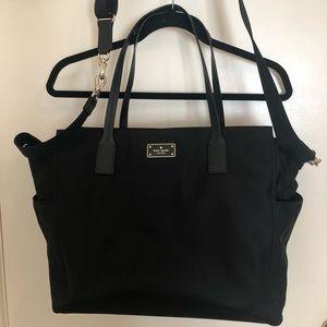 Kate Spade Diaper Bag (Black)